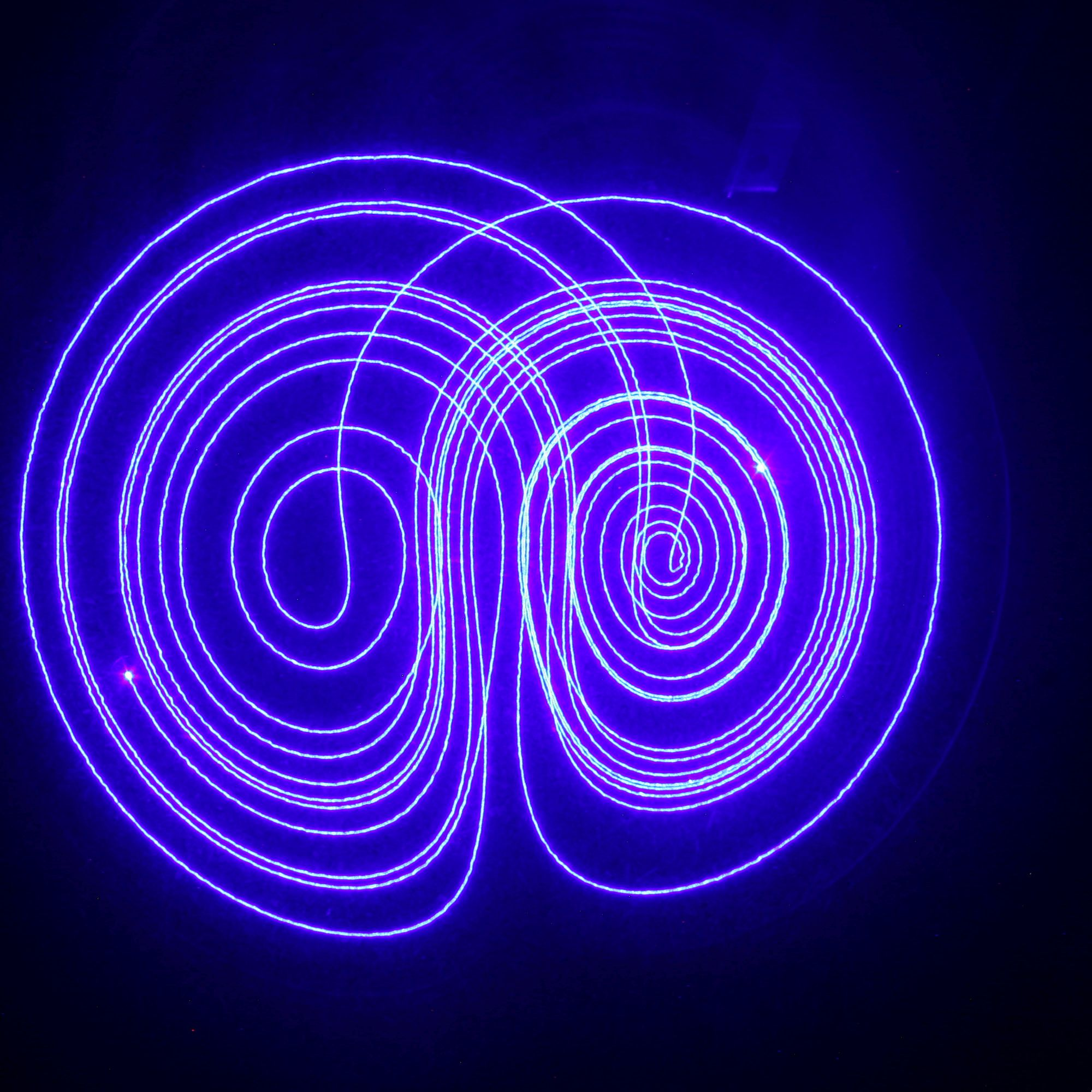 AxiDraw Lorenz attractor