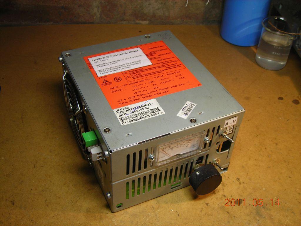 Power Ultrasonic Driver Circuit Medium 40khz Ultrasound Transducer Circuits Final Boxed Supply