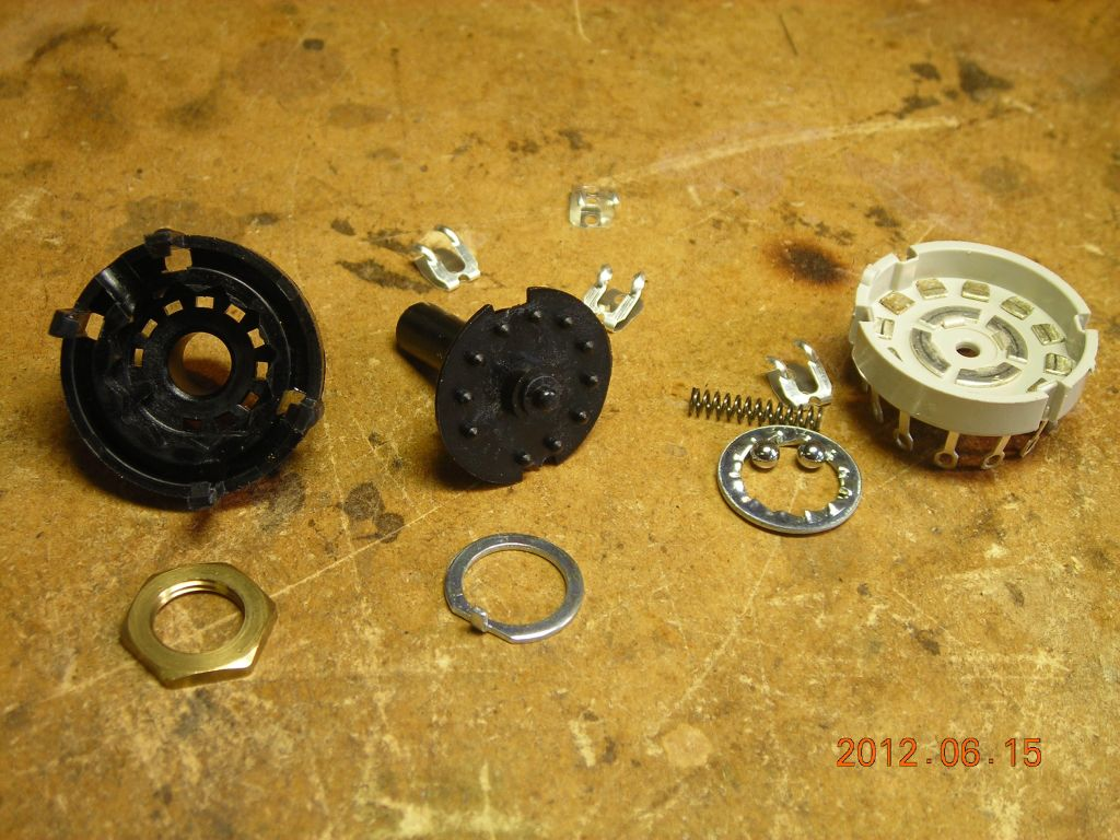 Modifying A Rotary Switch Disassembled Watch Out For The Spring And Ball Bearings