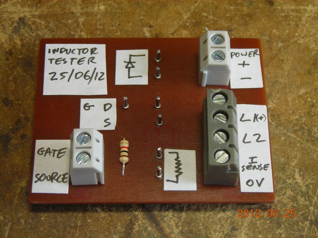 Inductor Tester 23 06 12 Inductance Meter Circuit Electronic Projects