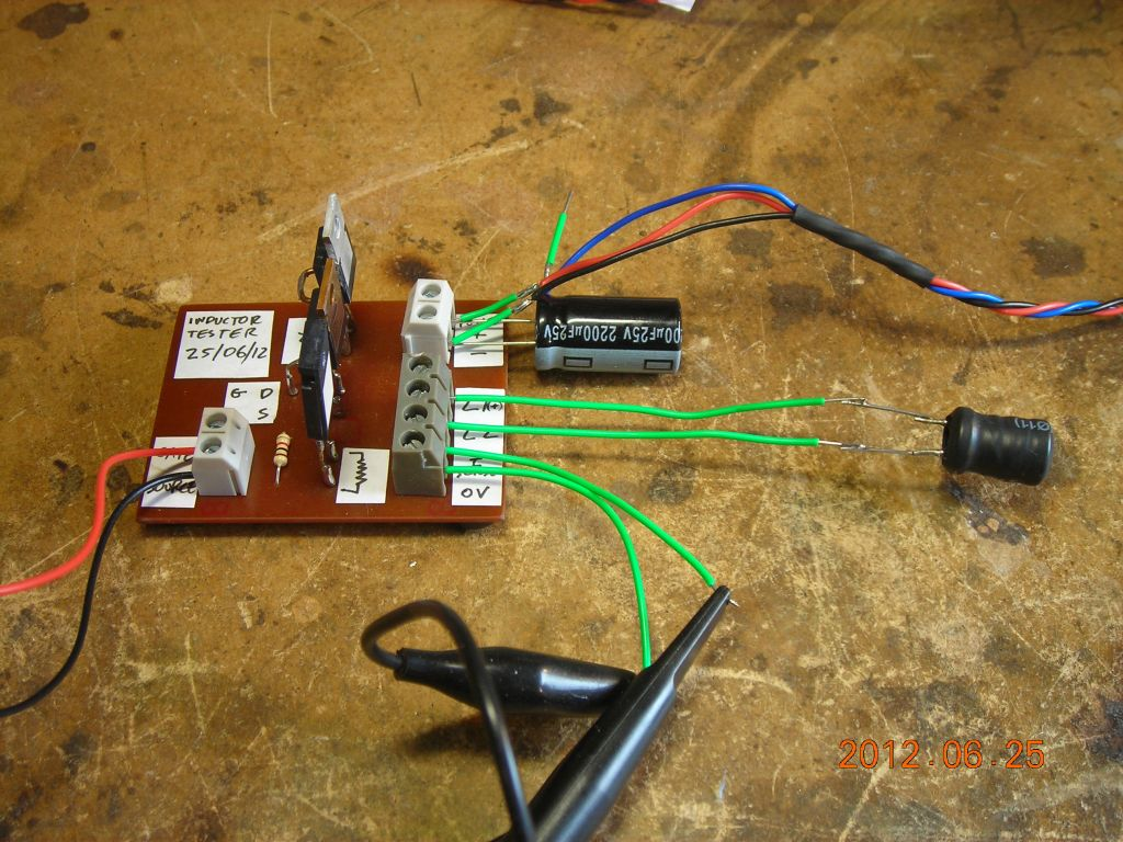Inductor Tester 23 06 12 Use Of In A Circuit