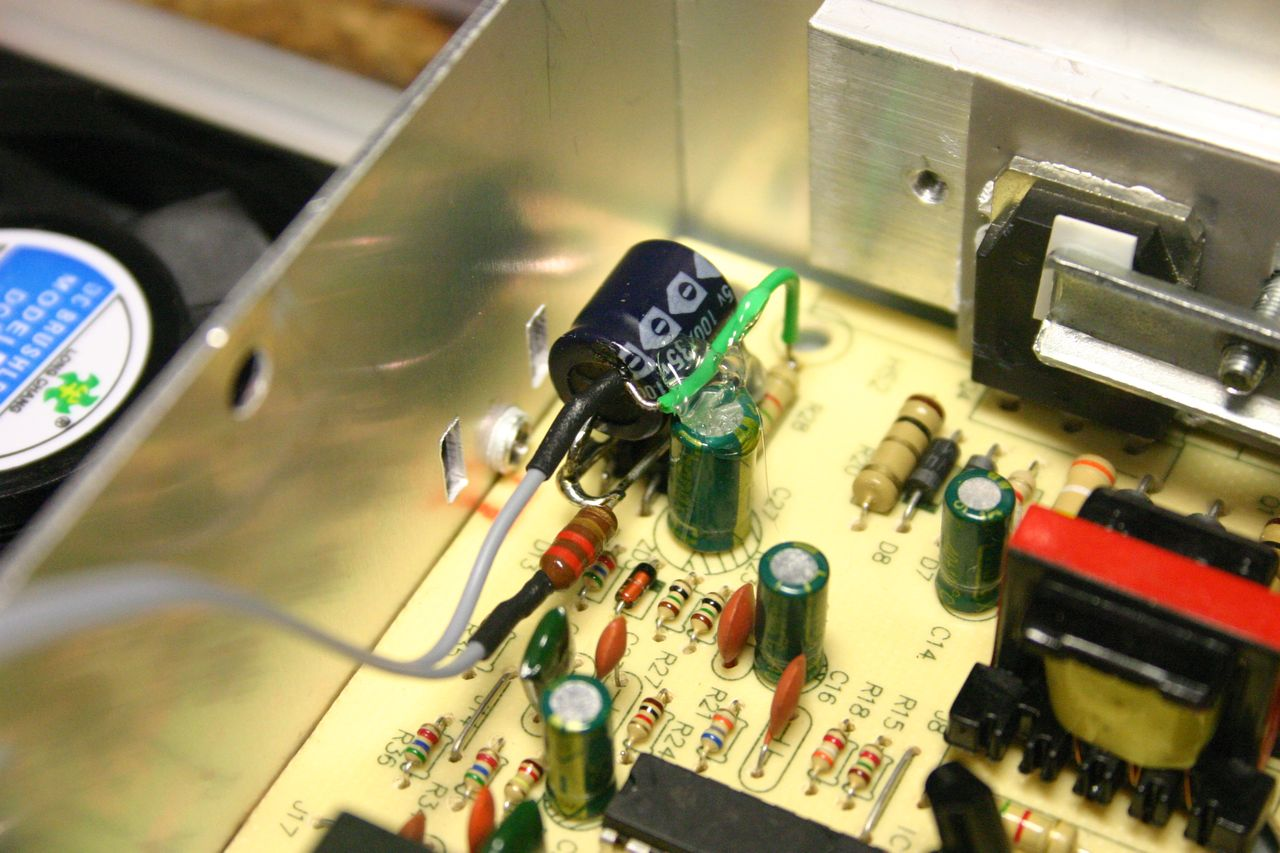 Modifying A Chinese Power Supply To Provide Variable Voltage Led Voltmeter Schematic For Module