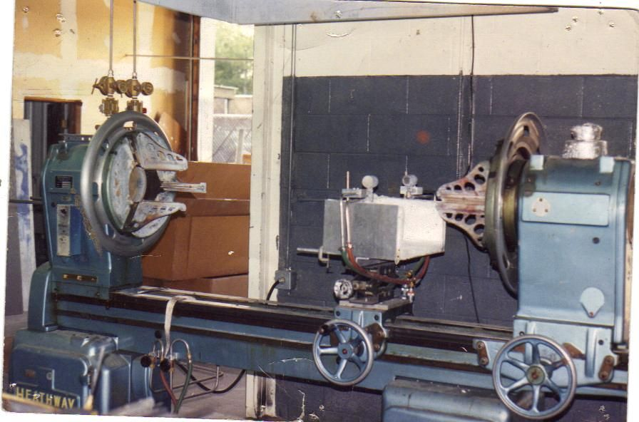 Dual Spindle Glass Lathe
