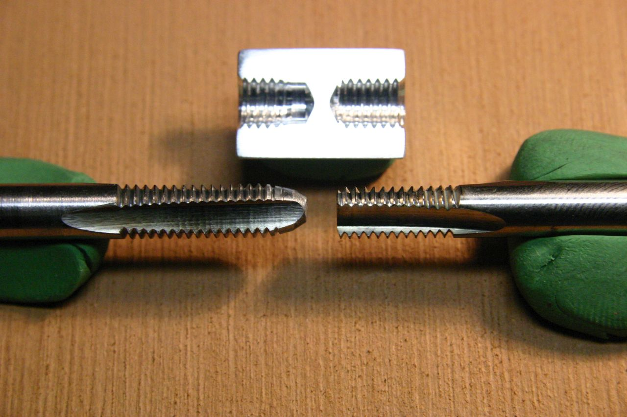 Metric Taps - Taper, Plug, Bottoming, and Spiral Point